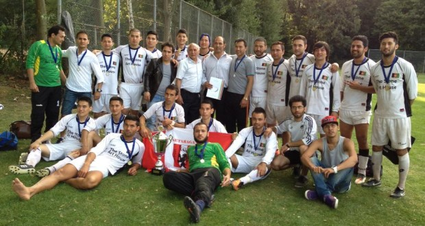 قهرمانی  تیم فوتبال ستارگان هلند در اروپا