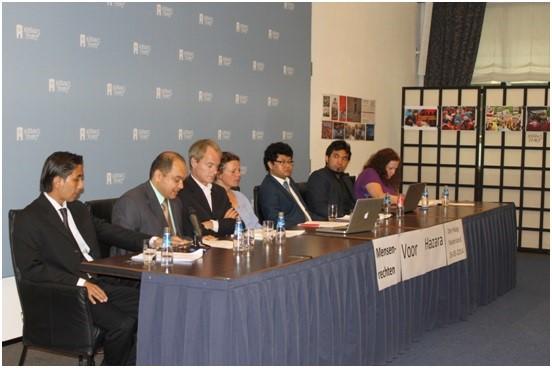 سمینار حقوق بشر برای هزاره ها در شهر لاهه هالند